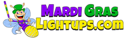 Mardi Gras Light Ups